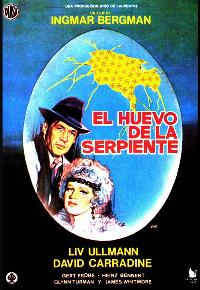 The Serpent's Egg - 27 x 40 Movie Poster - Spanish Style B