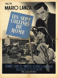 The Seven Hills of Rome - 11 x 17 Movie Poster - French Style A