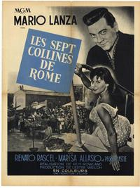 The Seven Hills of Rome - 27 x 40 Movie Poster - French Style A