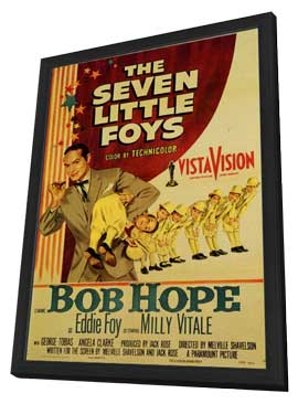 The Seven Little Foys - 11 x 17 Movie Poster - Style A - in Deluxe Wood Frame