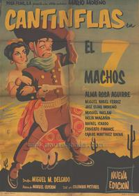 The Seven Machos - 27 x 40 Movie Poster - Spanish Style A
