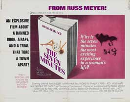 The Seven Minutes - 22 x 28 Movie Poster - Half Sheet Style A