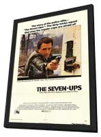 The Seven-Ups - 27 x 40 Movie Poster - Style A - in Deluxe Wood Frame
