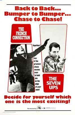 The Seven-Ups - 27 x 40 Movie Poster - Style B