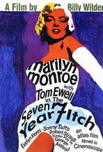 The Seven Year Itch - 11 x 17 Movie Poster - Style F
