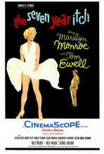 The Seven Year Itch - 27 x 40 Movie Poster - Style B