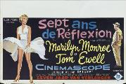 The Seven Year Itch - 27 x 40 Movie Poster - Belgian Style A