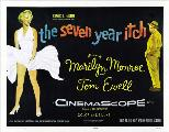 The Seven Year Itch - 43 x 62 Movie Poster - Bus Shelter Style B