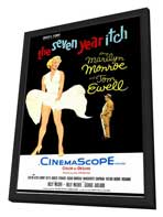 The Seven Year Itch - 11 x 17 Movie Poster - Style B - in Deluxe Wood Frame