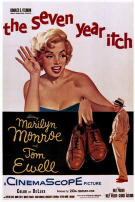The Seven Year Itch - 11 x 17 Movie Poster - Style A