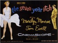 The Seven Year Itch - 11 x 17 Movie Poster - Style D