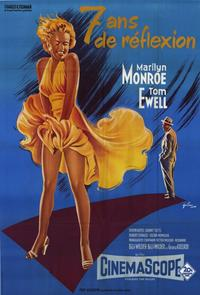 The Seven Year Itch - 11 x 17 Movie Poster - French Style A