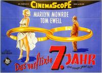 The Seven Year Itch - 11 x 17 Movie Poster - German Style A