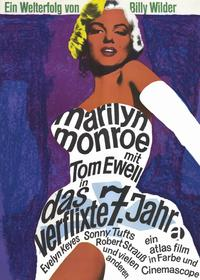 The Seven Year Itch - 11 x 17 Movie Poster - German Style C