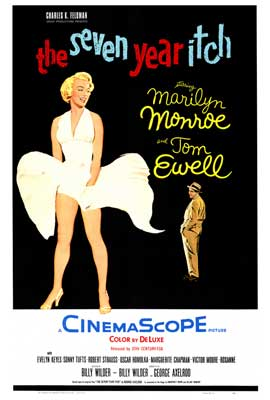 The Seven Year Itch - 43 x 62 Movie Poster - Bus Shelter Style A