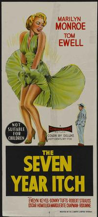 The Seven Year Itch - 11 x 17 Movie Poster - Australian Style A