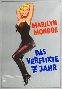 The Seven Year Itch - 43 x 62 Movie Poster - German Style A