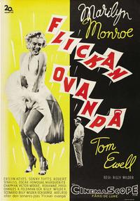 The Seven Year Itch - 43 x 62 Movie Poster - Swedish Style A