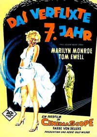 The Seven Year Itch - 11 x 17 Movie Poster - Danish Style E