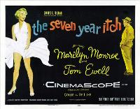 The Seven Year Itch - 27 x 40 Movie Poster - Style C