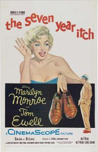 The Seven Year Itch - 27 x 40 Movie Poster - Style D