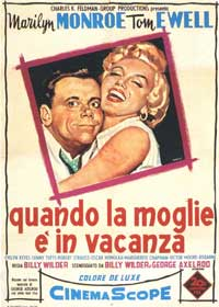 The Seven Year Itch - 11 x 17 Movie Poster - Italian Style C