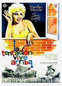 The Seven Year Itch - 11 x 17 Movie Poster - Spanish Style A
