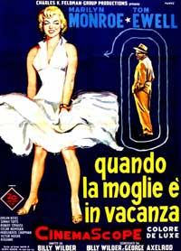 The Seven Year Itch - 11 x 17 Movie Poster - Italian Style D