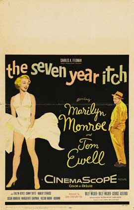 The Seven Year Itch - 43 x 62 Movie Poster - Bus Shelter Style D