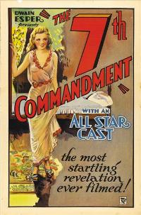 The Seventh Commandment - 11 x 17 Movie Poster - Style A