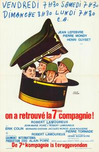 The Seventh Company Has Been Found - 27 x 40 Movie Poster - Belgian Style B