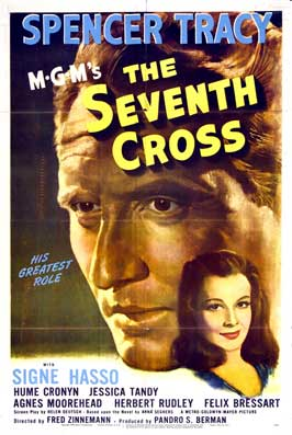 The Seventh Cross - 27 x 40 Movie Poster - Style B
