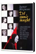The Seventh Seal - 27 x 40 Movie Poster - Foreign - Style A - Museum Wrapped Canvas