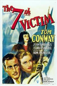 The Seventh Victim - 11 x 17 Movie Poster - Style A