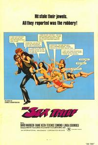The Sex Thief - 11 x 17 Movie Poster - Style A