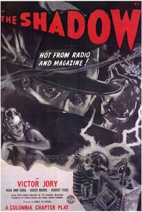 The Shadow - 43 x 62 Movie Poster - Bus Shelter Style A