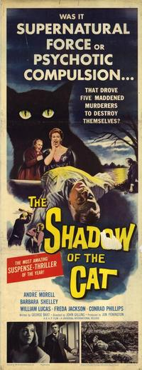 The Shadow of the Cat - 14 x 36 Movie Poster - Insert Style A