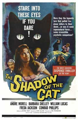 The Shadow of the Cat - 11 x 17 Movie Poster - Style A