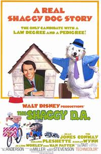 The Shaggy D.A. - 11 x 17 Movie Poster - Style A