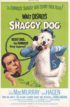 The Shaggy Dog - 27 x 40 Movie Poster - Style A