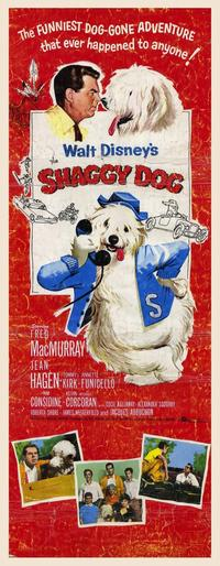 The Shaggy Dog - 14 x 36 Movie Poster - Insert Style A