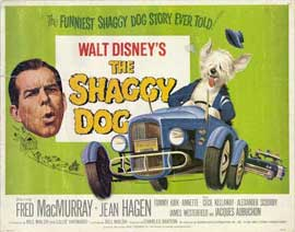 The Shaggy Dog - 22 x 28 Movie Poster - Half Sheet Style A