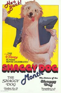 The Shaggy Dog - 43 x 62 Movie Poster - Bus Shelter Style A