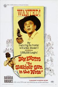 The Shakiest Gun in the West - 27 x 40 Movie Poster - Style C