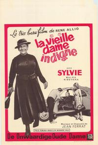 The Shameless Old Lady - 27 x 40 Movie Poster - Belgian Style A