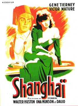 The Shanghai Gesture - 11 x 17 Movie Poster - French Style A