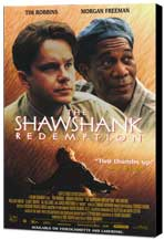 The Shawshank Redemption - 27 x 40 Movie Poster - Style B - Museum Wrapped Canvas