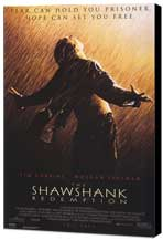 The Shawshank Redemption - 27 x 40 Movie Poster - Style C - Museum Wrapped Canvas