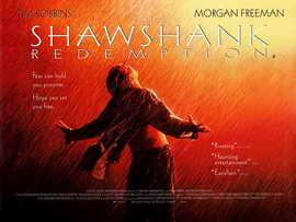 The Shawshank Redemption - 30 x 40 Movie Poster - Style B