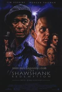The Shawshank Redemption - 43 x 62 Movie Poster - Bus Shelter Style A